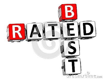 3D Best Rated Crossword