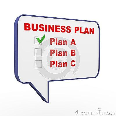 business plan speech