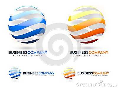 3D Business Logo