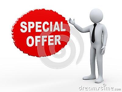 3d businessman special offer