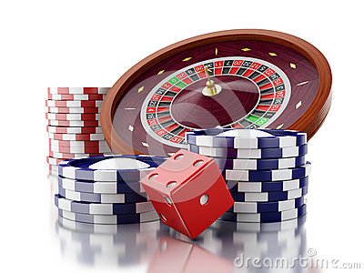 casino games with dice and chips