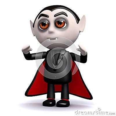 3d Count Dracula