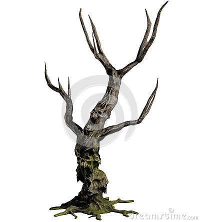 3D demon tree