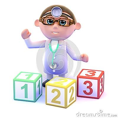 3d Doctor teaches math