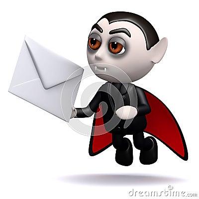 3d Dracula mail