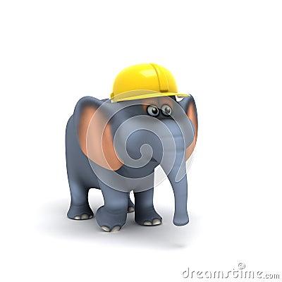 3d Elephant builder