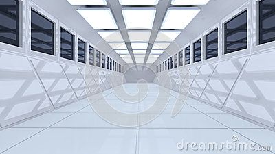 3d futuristic architecture