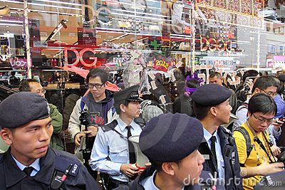 D&G Photo Ban Sparks Protest in Hong Kong Editorial Stock Image