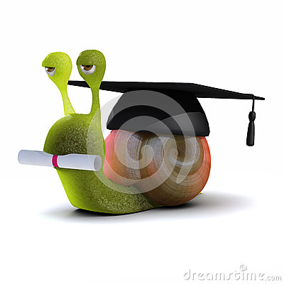 3d Graduate snail