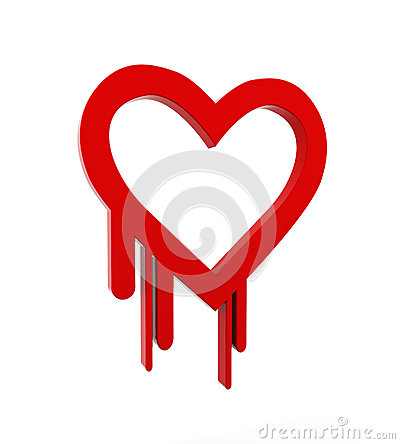 3d heartbleed openSSl security symbol