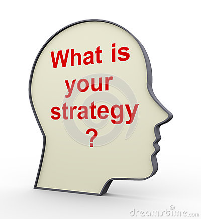 3d human head - your strategy