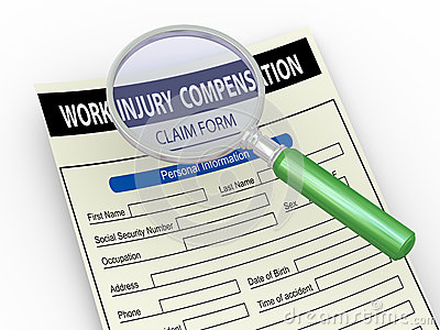 3d magnifier and work injury claim form