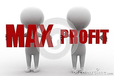 3d Man Max Profit