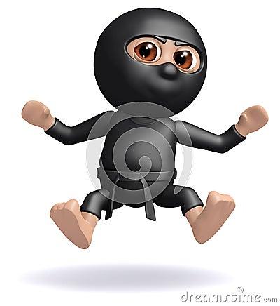 3d Ninja has been hit