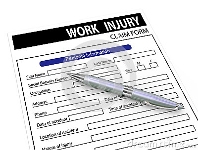3d pen and work injury claim form