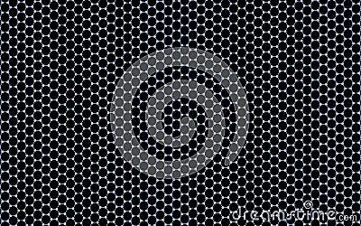 3D Regular Hexagonal Pattern (Graphene)