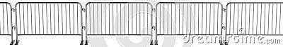 3d render of barrier