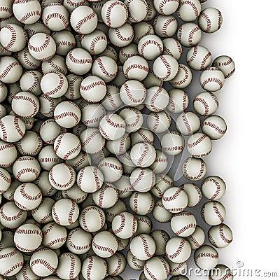 Baseballs spill