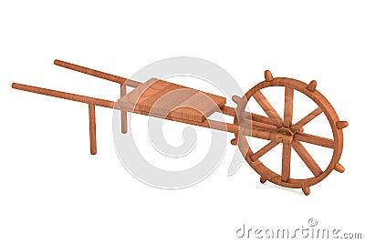 3d render of farming tool Stock Photo
