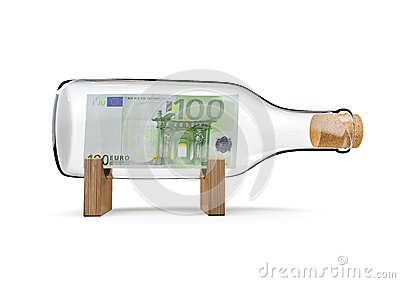 Hundred euro bottle