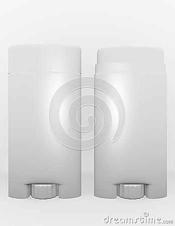 3d Render of a Mens Deodorant Stick