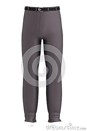 3d render of pants