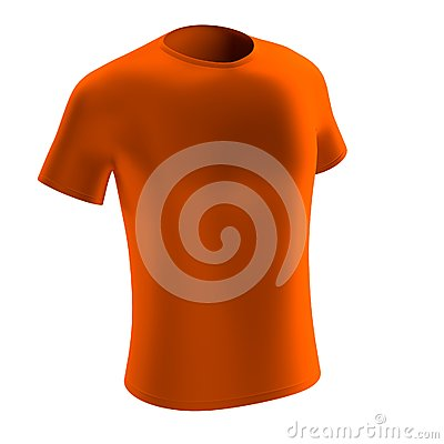 3d render of t-shirt