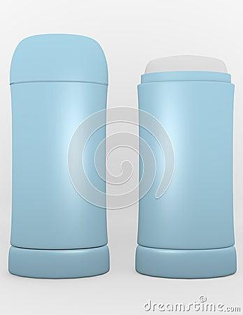3d Render of Womens Deodorant Stick