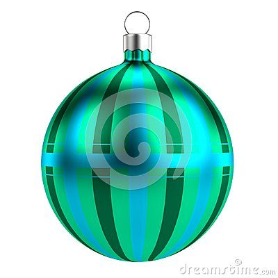 3d render of xmas ball