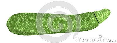 3d render of zucchini