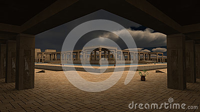 God Ra palace