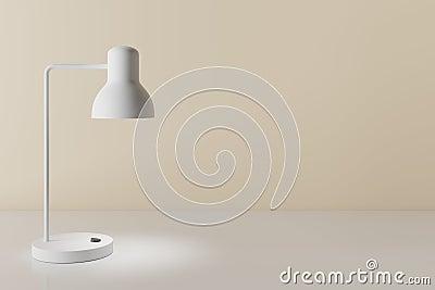 3d rendering of desk lamp Stock Photo
