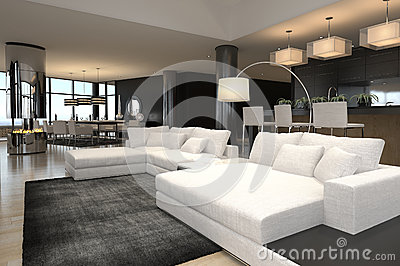 Modern living room interior | Design Loft