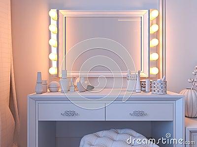Letto Moderna Interior Design: Interior design in camera da letto con ...