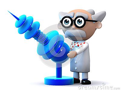 3d Scientist ray gun
