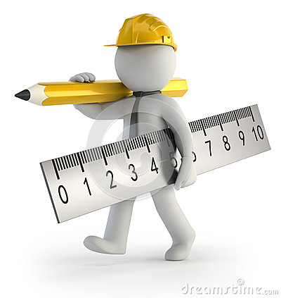 3d small people builder stock photo image 34825460 for 3d setup builder