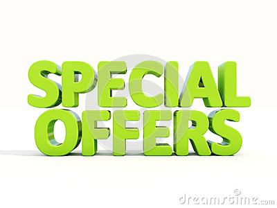 3d Special offers