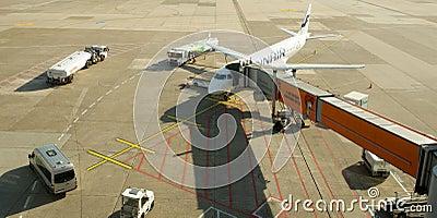 Düsseldorf airport Editorial Photography