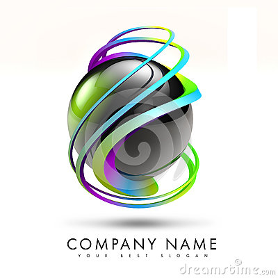 3D torsione Logo Design