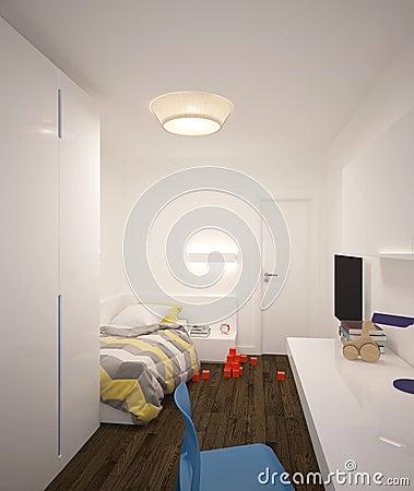 Schilderij vans woonkamer for 3d interieur ontwerpen