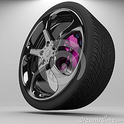 3d wheel racing.