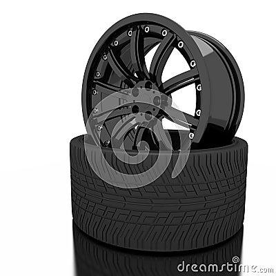 3d wheel.