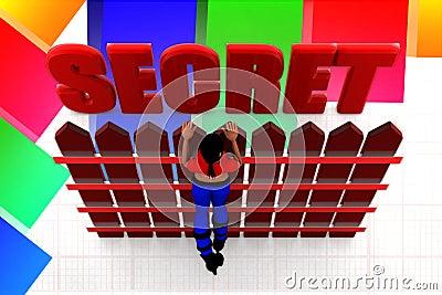 3d Women secret illustration