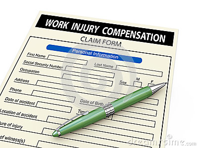 3d work injury compensation claim form