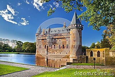 DA-haar Schloss