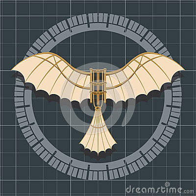 Free Da Vinci Flying Machine Stock Photo - 51209490