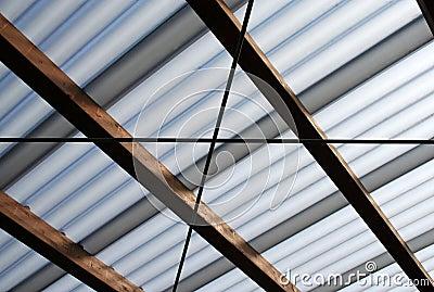 Dach-Lichtstrahl