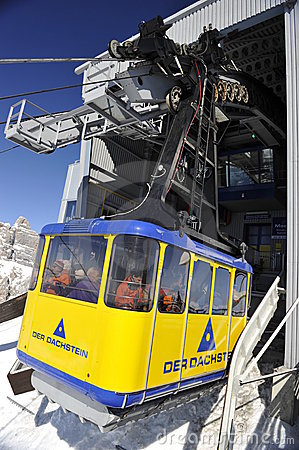 Free Dachstein, Cable Car Stock Images - 18969264