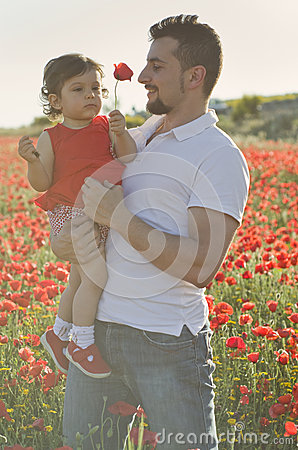 Free Dad And Baby Royalty Free Stock Image - 40468526