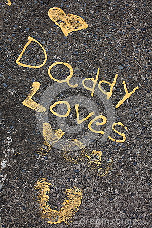 Daddy loves you statement